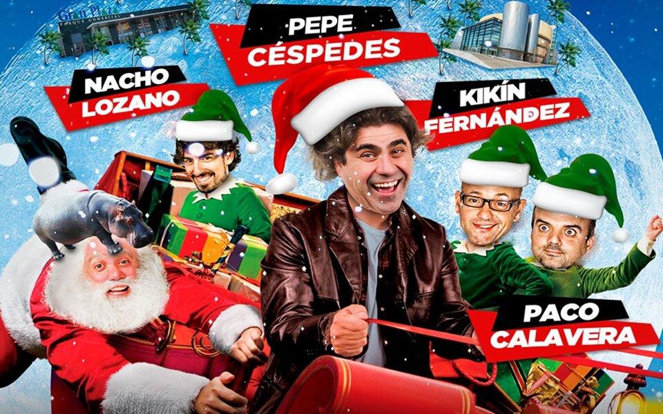 'Vuelven por Navidad' ¡Un espectáculo de monólogos, música y sketches!