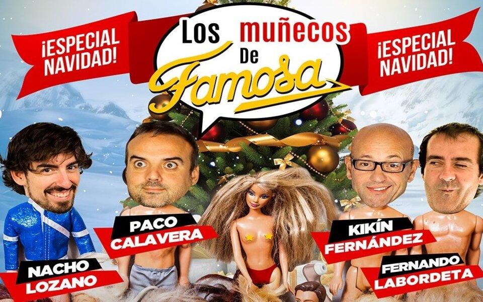 Los Muñecos de Famosa se dirigen al portal en Navidad