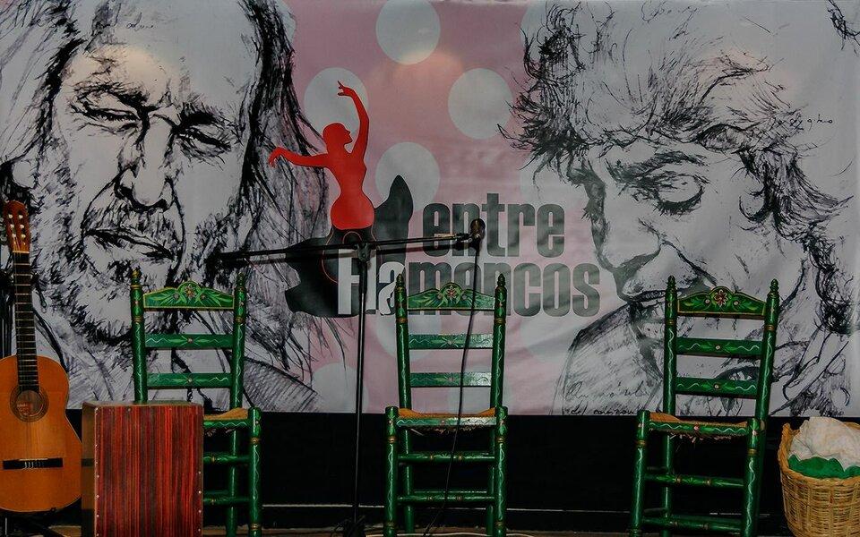 Zambombá flamenca por Navidad en el Teatro Cervantes