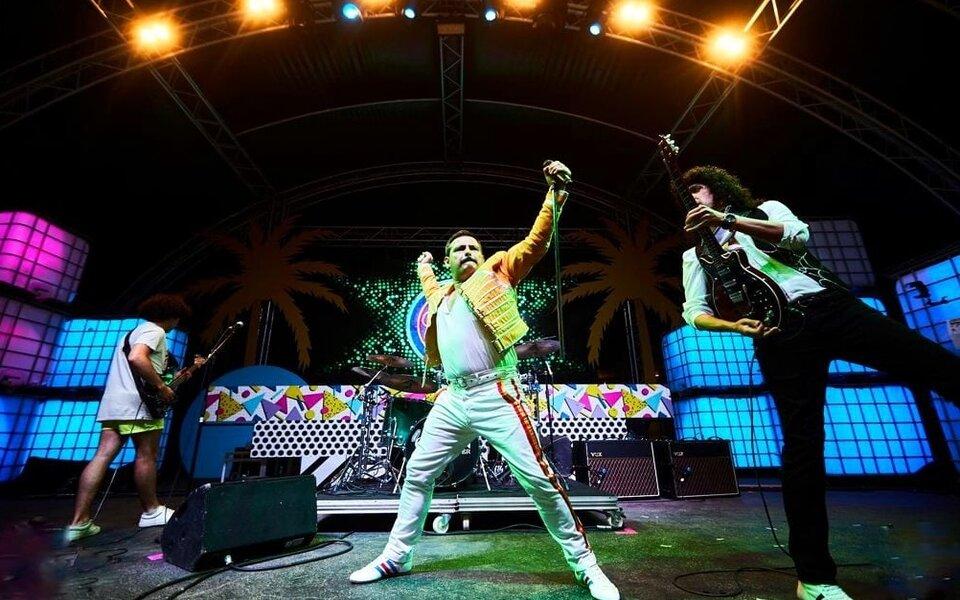 Queen Forever en el escenario
