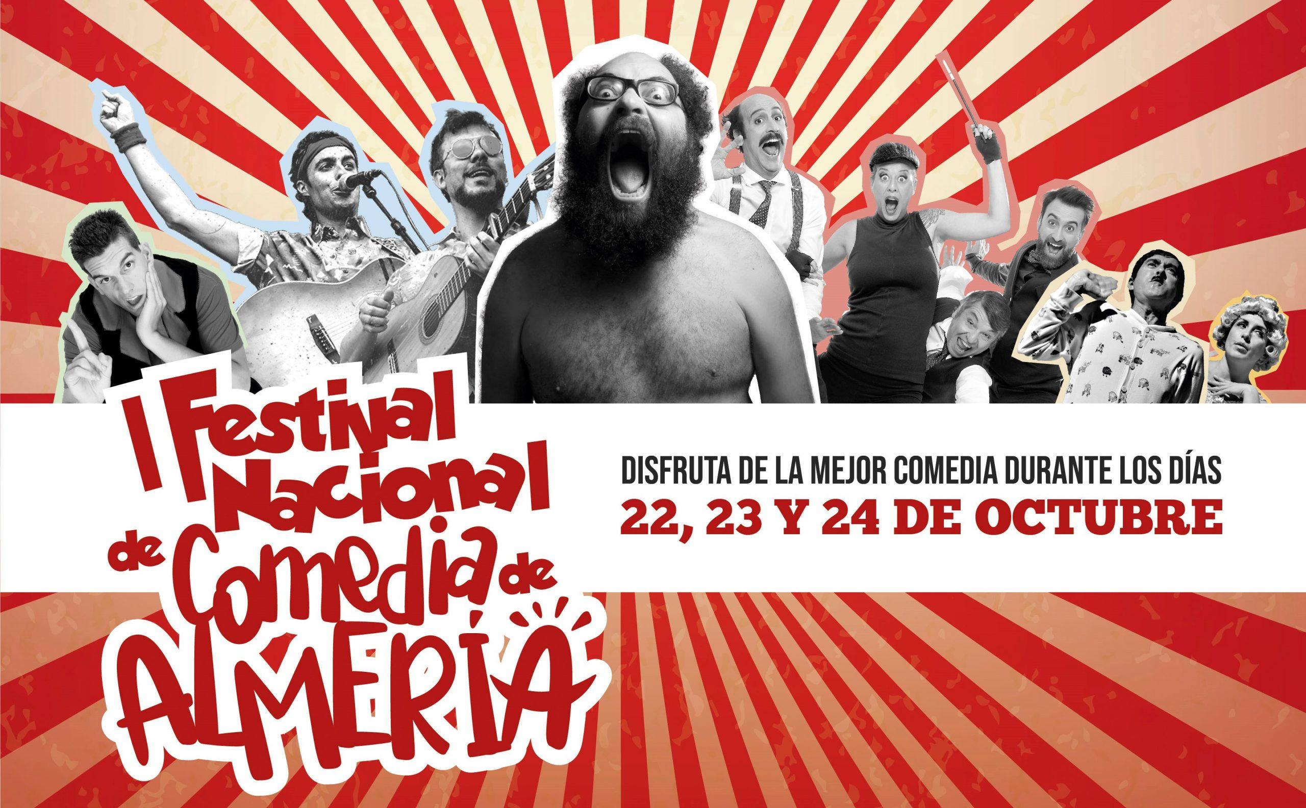 Ignatius, Antílopez, Gag Movie encabezan el cartel del I Festival Nacional de Comedia de Almería